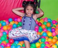 Kid and playground Royalty Free Stock Photo