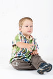 Kid playing Royalty Free Stock Photos