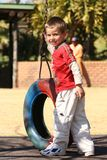 Kid playing. Children royalty free stock photography