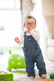 Kid playing Royalty Free Stock Images