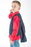 Kid posing in studio Stock Image