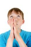 Kid Praying Stock Photos