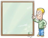 Kid presentating Stock Image