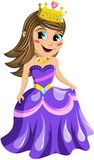 Kid Princess Isolated Stock Images