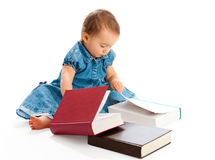 Kid reading Stock Images