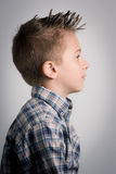 Kid right side royalty free stock photos