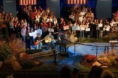 Kid Rock en la reunión de Romney Fotos de archivo