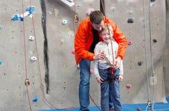 Kid Rock-het Beklimmen royalty-vrije stock afbeeldingen
