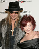 Kid Rock, Sharon Osbourne Fotos de archivo