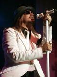 Kid Rock utför i konsert royaltyfria bilder
