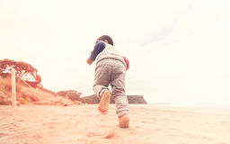 Kid Running. Stock Photography