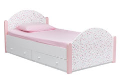 Kid's bed Royalty Free Stock Images