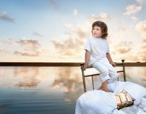 Kid's dream Stock Photography