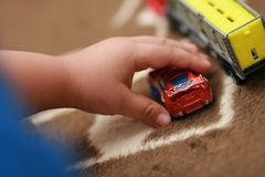 Kid's fantasy race 3 Stock Photo
