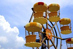 Kid's Ferris Wheel stock photography