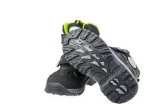 Kid's  grey shoes Stock Images