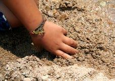 Kid's hand. Close-up kid's hand royalty free stock photos