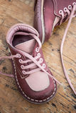 Kid's leather shoes Royalty Free Stock Photography
