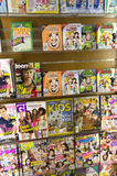 Kid's magazines in store Royalty Free Stock Images