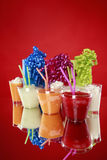 Kid's party smoothies, slushies and gifts Stock Photos