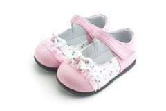 Kid's pink shoes Royalty Free Stock Photography