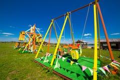 Kid's playground Royalty Free Stock Image