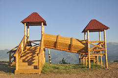 Kid's playhouse Stock Photo