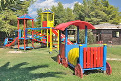 Kid's playhouse Royalty Free Stock Images