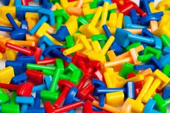 Kid's puzzle Stock Images
