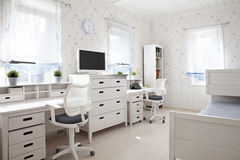 Kid's room in sunlight Royalty Free Stock Images