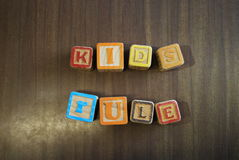 Kid`s Rule 1 Royalty Free Stock Images