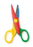 Kid's scissors Royalty Free Stock Image