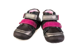 Kid's shoes Royalty Free Stock Photos