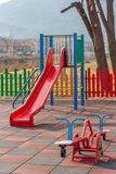 Kid's slide Royalty Free Stock Images