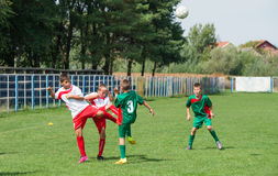 Kid's soccer Stock Images
