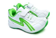 Kid`s sport shoes. Stock Image