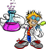 Kid Scientist Inventor Stock Photo