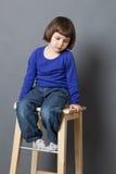 Kid serenity concept Stock Photo