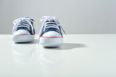 Kid shoes Stock Images