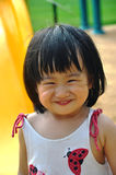 Kid with smile face look like cat. Asain kid with smile face which look like cat's face Royalty Free Stock Images