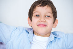 kid smiling to the camera Stock Photography