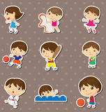 Kid sport stickers