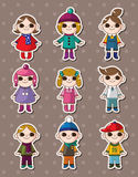 Kid stickers Stock Photos