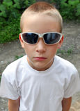 Kid in Sunglasses Royalty Free Stock Image