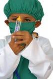 Kid surgeon Stock Images
