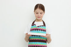 Kid and sweets Royalty Free Stock Photos
