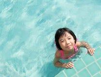 Kid in swimming pool Royalty Free Stock Photo