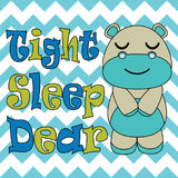 Kid T-shirt background  cartoon with cute baby hippo sleep on chevron background suitable for children t-shirt wallpaper Royalty Free Stock Photography