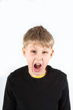 Kid with tantrum Royalty Free Stock Image