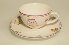 Kid tea pairs Royalty Free Stock Image